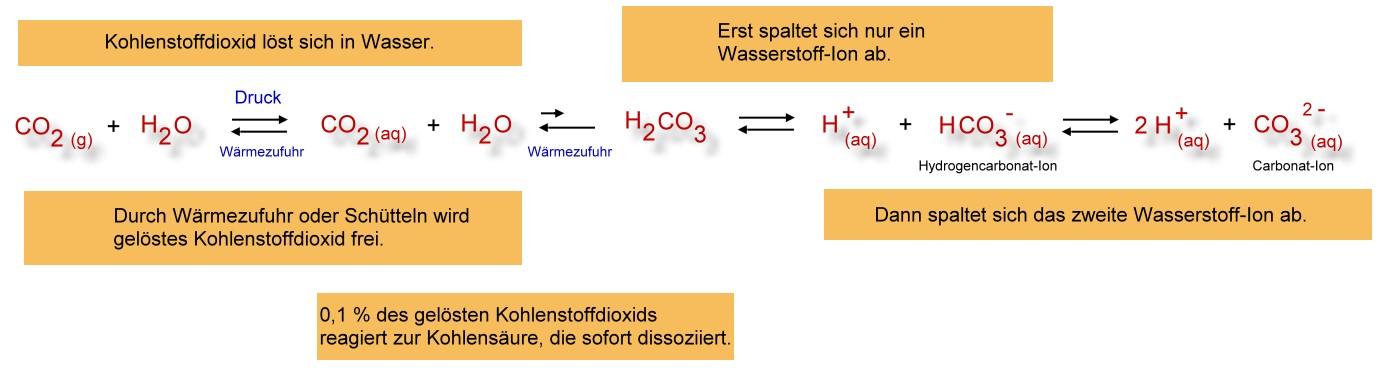 dissoziation chemie